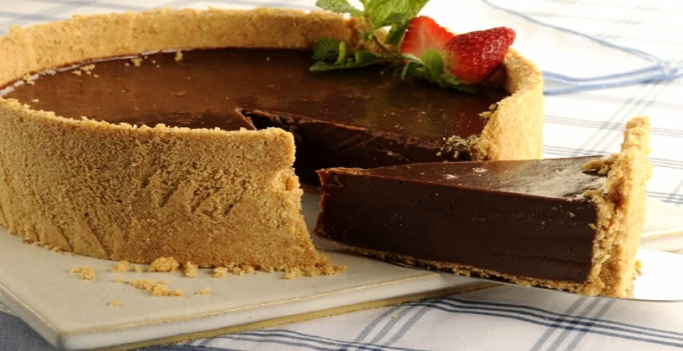 Como Fazer Torta de Chocolate Light